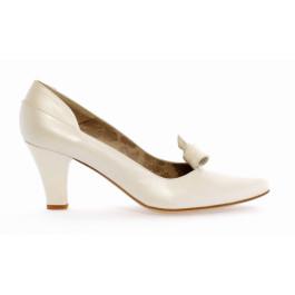Neftis zapatos de novia, blanco roto