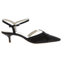 Paula zapato de fiesta gris oscuro