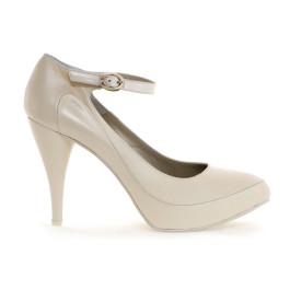 Petra zapatos de novia, blanco roto