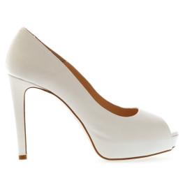 Rocío zapatos de novia marfil claro (blanco roto)