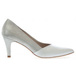 Paula zapatos de fiesta, color gris plata