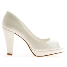 Martina zapatos de novia: blanco roto