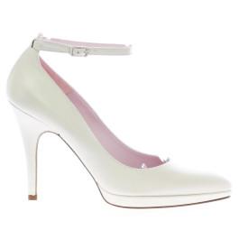 Txell zapatos de novia blanco roto