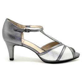 Noelia zapato de fiesta, plata