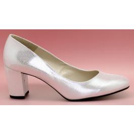 Tatiana zapatos de fiesta: plata