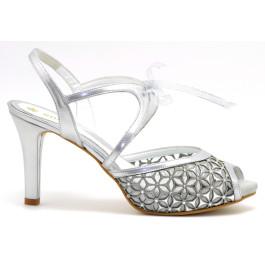 Ilenia sandalias de fiesta ancho especial