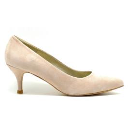 Sol zapatos de novia y fiesta nude