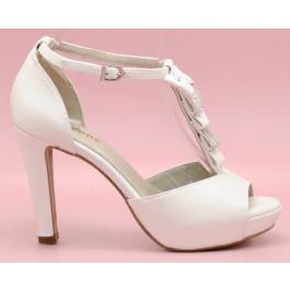 Sofía pedrería zapatos de novia