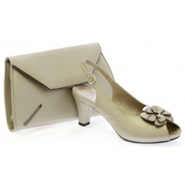 Adela zapatos de fiesta y bolso eric