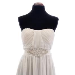 Oslo vestido de novia con cinturón