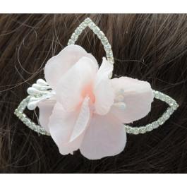 C_84  tocados de novia flor rosa