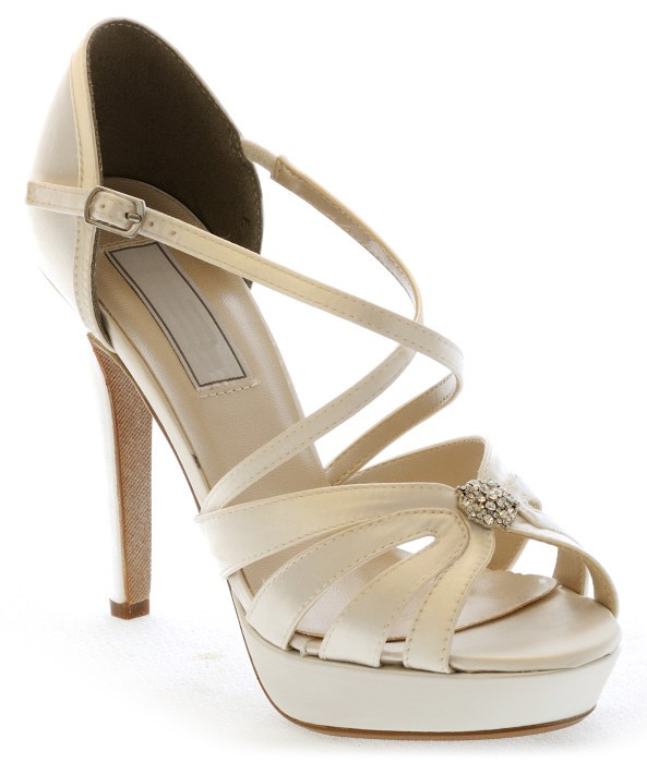 zapatos TU Darling marfil de wedding roto blanco shoes claro novia OPHSwdxH