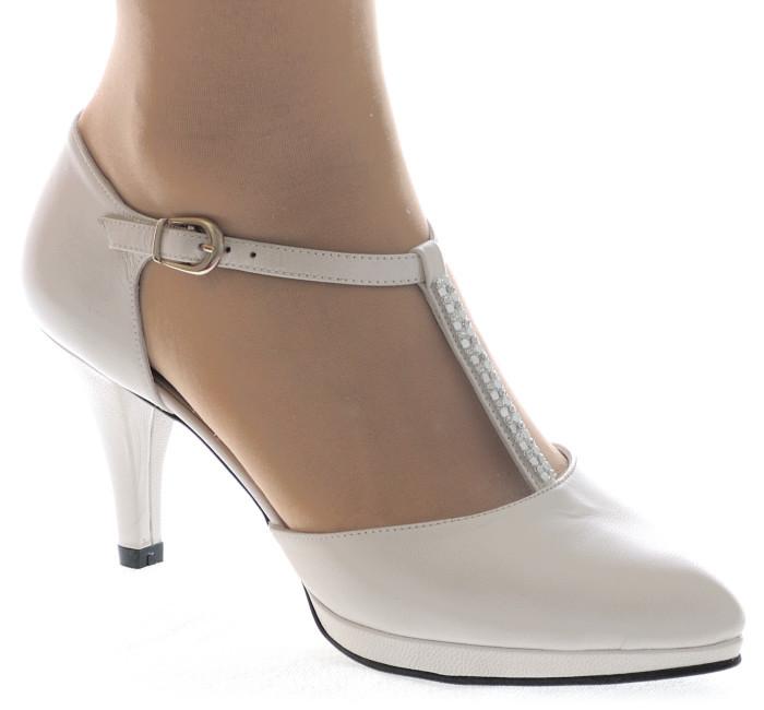 ... Ines zapatos de novia  blanco roto 50b78d28c81
