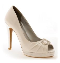 joana zapatos de novia: color TU-501 marfil claro
