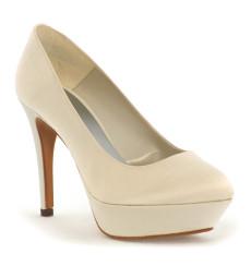 Ursula zapatos de novia: marfil claro