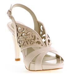 Abril zapato de novia