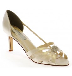 zapatos de novia y fiesta Geminis _ blanco roto _  wedding shoes _TU-501_light ivory