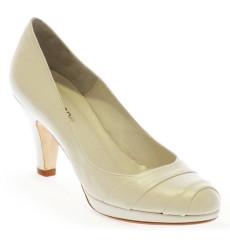 Rosa zapatos de novia