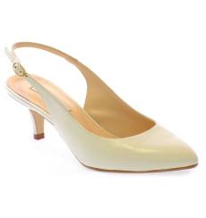 Sara zapatos de novia, blanco roto