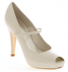 Eli empeine zapatos de novia