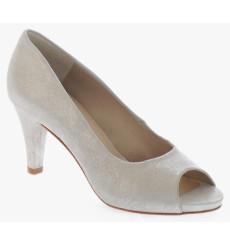 Daisy plata zapatos de fiesta