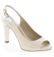 Ambar sandalia de novia