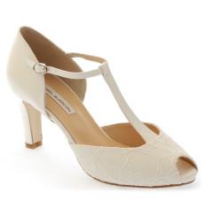 Lourdes zapatos de novia