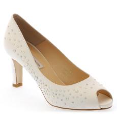 Susana zapatos de novia blanco roto