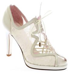 Anabel zapato botín de novia