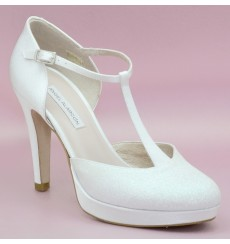 Feli zapatos de novia brillo
