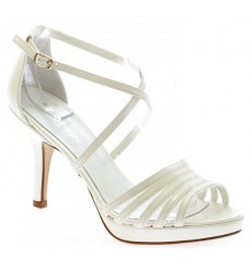 Celeste sandalias de novia