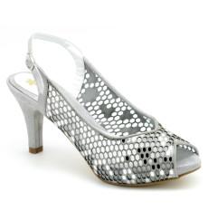 Jenny zapato de fiesta, color plata