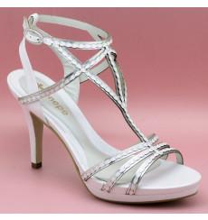Agripina sandalia de novia