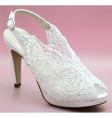 Lina sandalias de novia