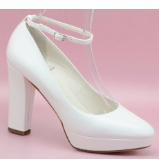 Mónica zapatos de novia