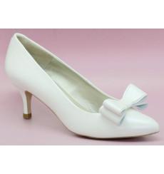 Sol zapatos de novia lazo