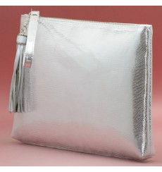 Marc bolso de fiesta plata