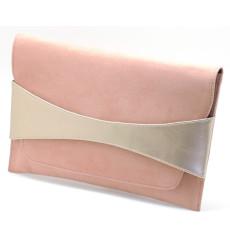 Jana bolso de fiesta, rosa nude