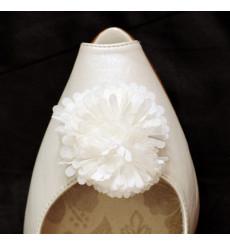 A_35 Pompon de tela: adornos para zapato, shoe clip