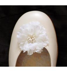 Flor de pistilos clip para zapatos