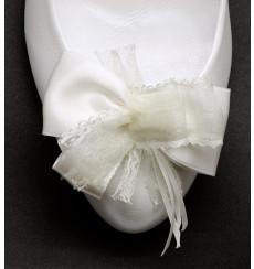 A_114 Lazo de raso: adornos para zapatos, shoe clip, broche para zapatos