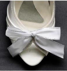 A_118 Lazo de raso: adornos para zapatos, shoe clip, broche para zapatos