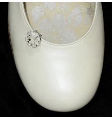 A_77 Florecita de pedrería, adornos para zapatos, shoe clip