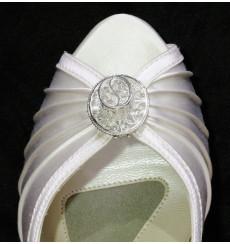 A_88 Broche de pedrería sombrerito, adornos para zapatos, shoe clip