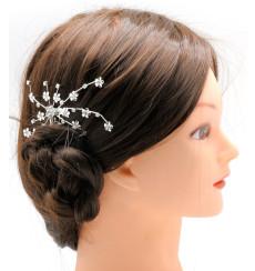 C_50  peina de novia con flores de pedrería