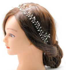 C_80 tiara flexible de novia con pedrería