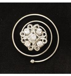 Horquillas espiral de novia y fiesta E-1007-1