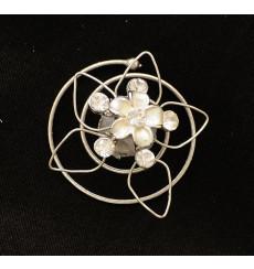 Horquillas espiral de novia E-157