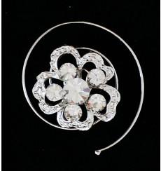 Horquillas espiral de novia y fiesta E-01