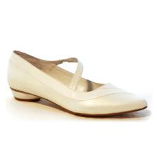 Ágata zapato de novia